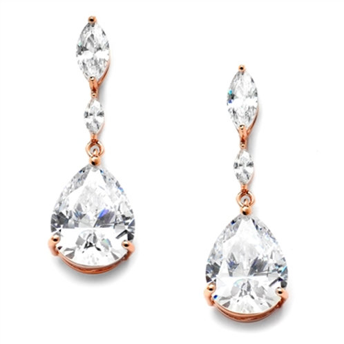 Marquis & Pear Drop Earrings