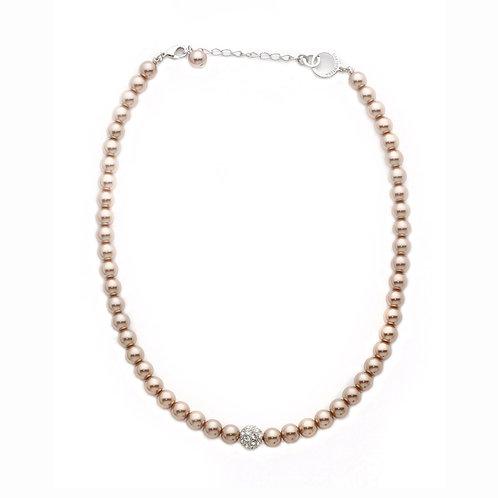 Sydney Crystal Ball Necklace