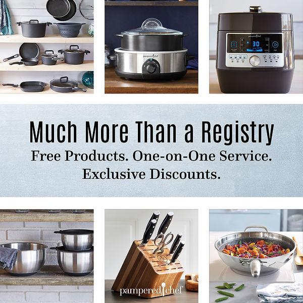 Pampered Chef Registry