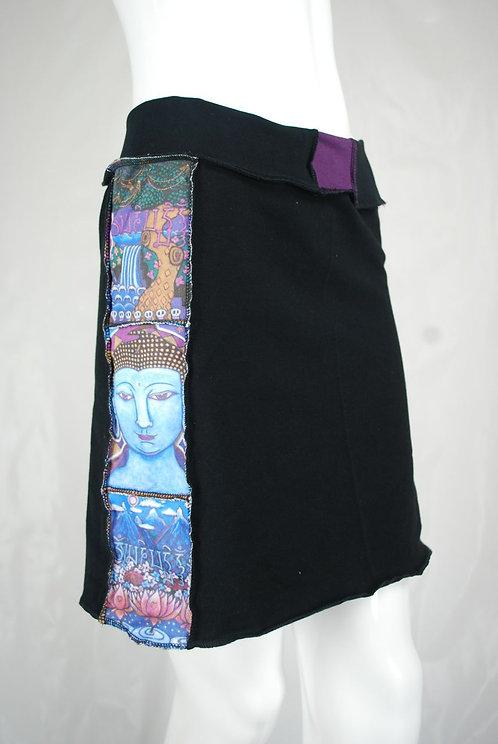 """Medicine Buddha"" mini skirt"