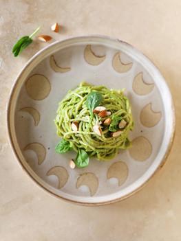 Creamy Green Pasta