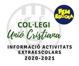 Informació activitats extraescolars 2020-2021