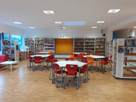 Eröffnung der neuen Bibliothek
