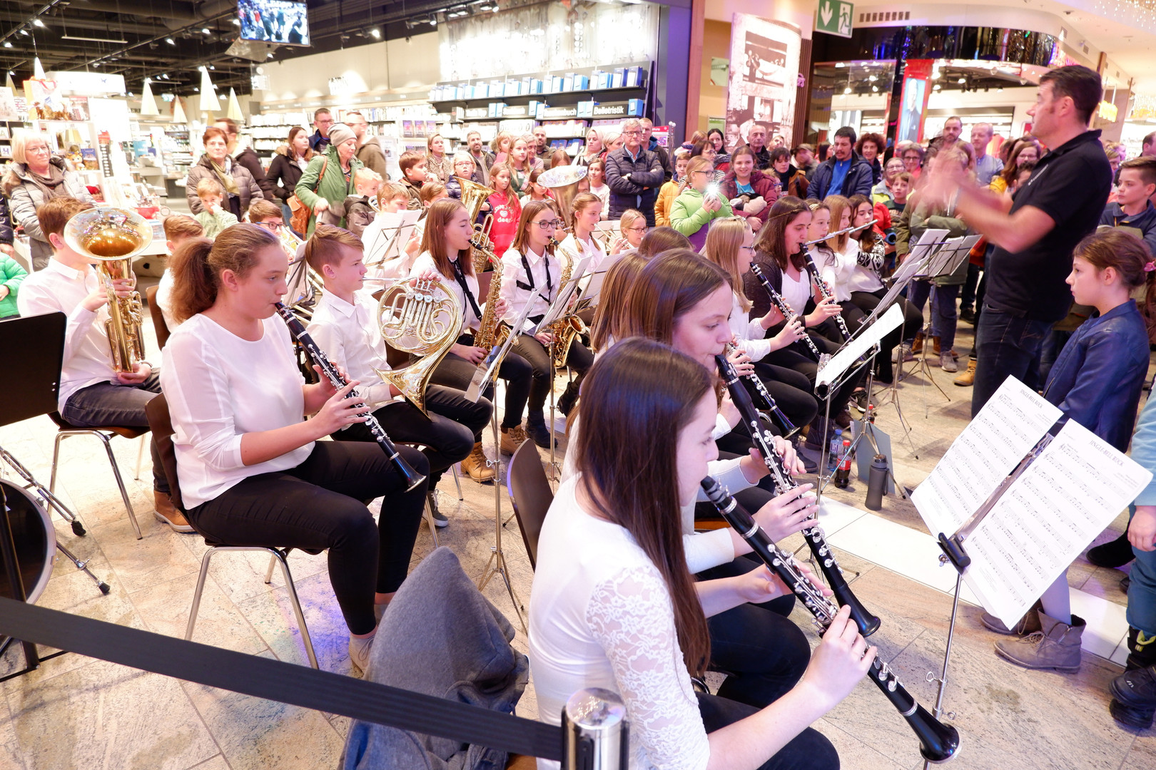 Schulorchester Auftritt Weberzeile