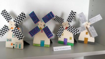 Solar - Windmühle