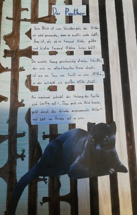 Der Panther - ein Gedicht, das es verdient, gehört zu werden! Vorgetragen und erarbeitet von der 3m