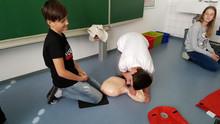 """""""Kids save lives"""" - St. Martiner Schüler werden zu Lebensrettern"""