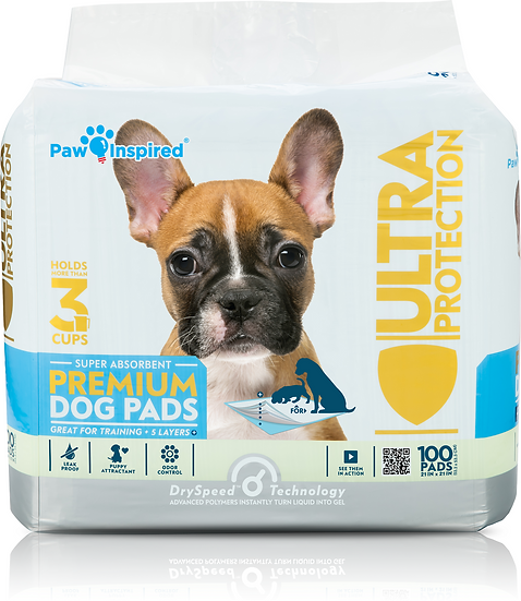 Paw Inspired Pet Training and Puppy Pads