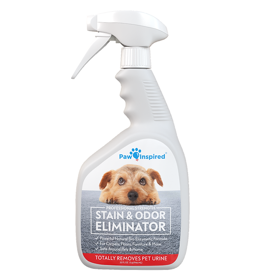 Paw Inspired Stain & Odor Eliminator Pro-Biotic Enzyme Cleaner/Remover for Pets