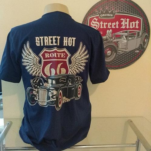 Camiseta Route 66 Wings