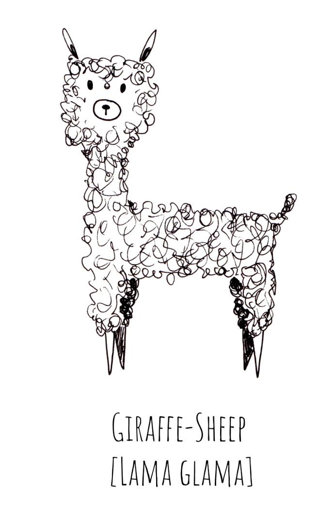 Giraffe Sheep