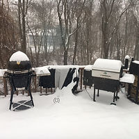 Grills in the Snow.JPG