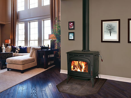 Blaze King Ashford 30 Cast Black Wood Stove