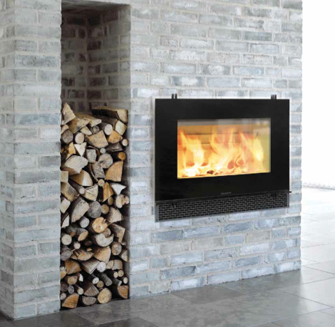 Hwam 3055 Zero Clearance Fireplace