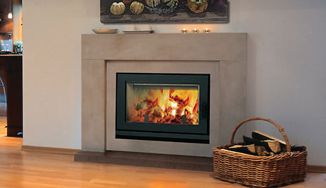 Astria Brentwood LV High Efficiency Wood Fireplace