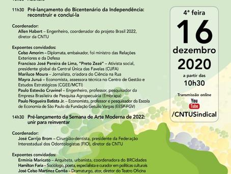 Economista Marcel Solimeo recebe Prêmio Personalidade Profissional, pela CNTU
