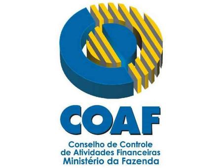 Declaração ao COAF