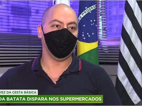PARTICIPAÇÃO DO DELEGADO REGIONAL DENIS CASTRO NO JORNAL FALA BRASIL