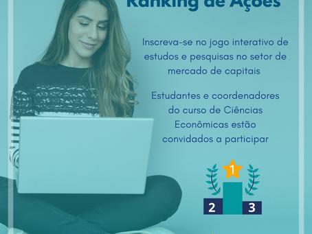 """Corecon-SP lança jogo interativo """"Ranking de Ações"""""""