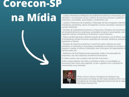 Corecon-SP na Mídia: Artigo escrito por Vice Presidente do Corecon-SP, Pedro Afonso Gomes