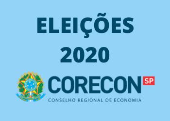 DIVULGAÇÃO DO RESULTADO DA ELEIÇÃO CORECON-SP 2020