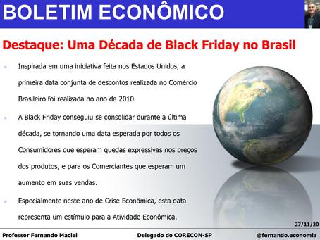 Boletim Econômico - Uma Década de Black Friday no Brasil