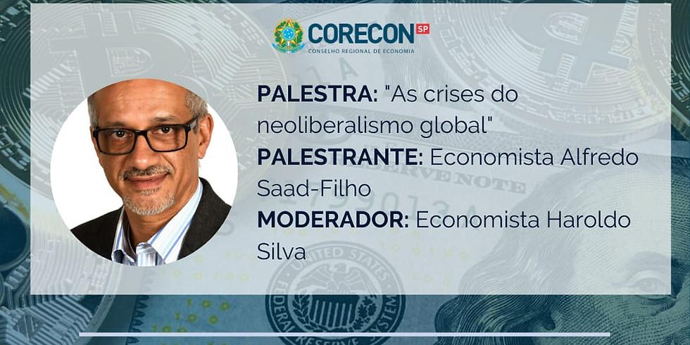 "Participe da palestra: ""As crises do neoliberalismo global"""