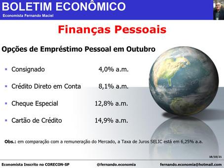 Boletim Econômico - Finanças Pessoais, por Fernando Maciel.