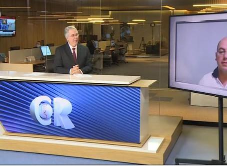 Delegado Denis Castro participa do Caderno Regional da Santa Cecília TV