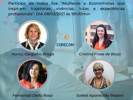 5º FÓRUM DA MULHER ECONOMISTA - Evento online no Dia da Mulher