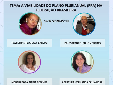 """""""Elas & Eles - assuntos econômicos: A viabilidade do Plano Plurianual (PPA) na federação brasileira"""""""
