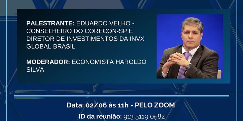 """Participe da palestra online """"Avaliação dos Mercados e Cenário Econômico pós-pandemia"""""""