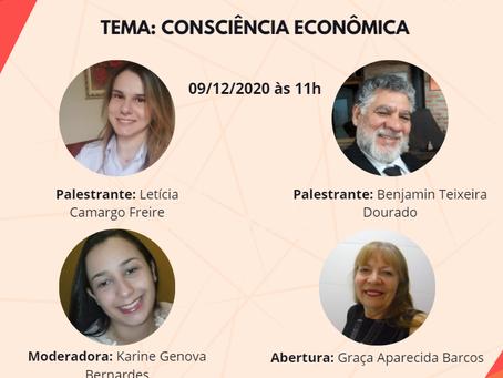 """Ciclo de Palestras Corecon-SP Mulheres """"Elas & Eles - assuntos econômicos"""": Consciência Econômica"""