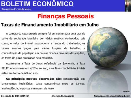 Boletim Econômico - Finanças Pessoais, por Fernando Maciel