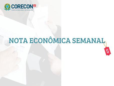 Nota Econômica semanal, pelo economista Carlos Eduardo Oliveira Junior