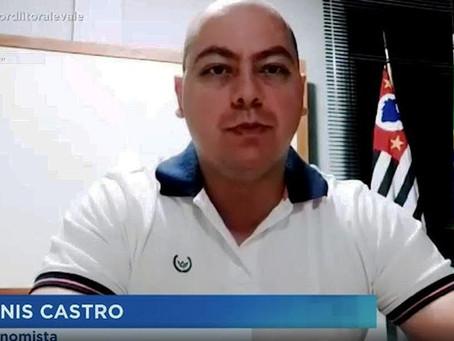 PARTICIPAÇÃO DO DELEGADO DENIS CASTRO NA RECORD LITORAL