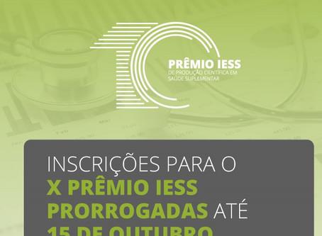 X Prêmio IESS de Produção Científica em Saúde Suplementar