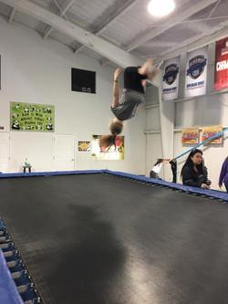 tramp flip