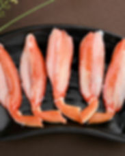 Snow crab leg portion