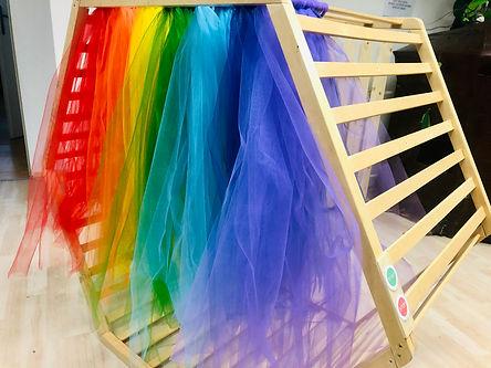 Regenbogen-Waschanlage im MuPP