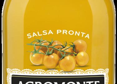Agromonte färdig gul körsbärstomatsås 330g