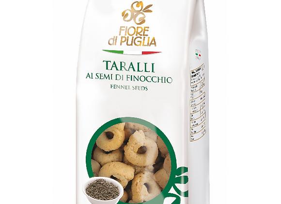 Fiore di Puglia Taralli med fänkålsfrön 125g