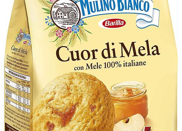 Mulino Bianco Cuor di mela Kakor med äppelfyllning 300g