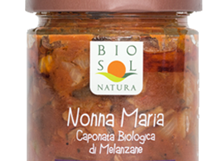 Biosol Caponata grönsaksröra på aubergine 190g