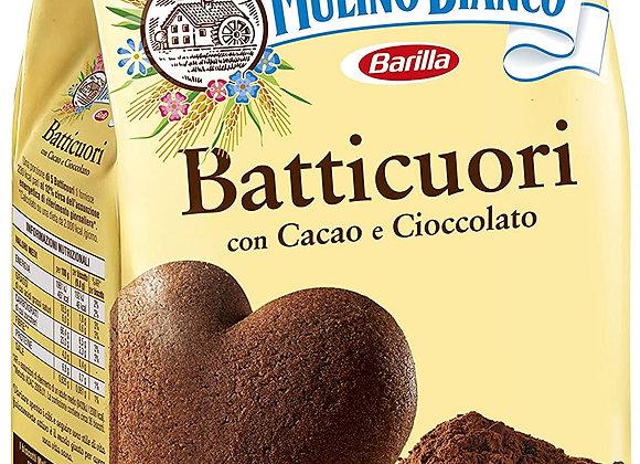 Mulino Bianco Batticuori Kakor med kakao & choklad 350g