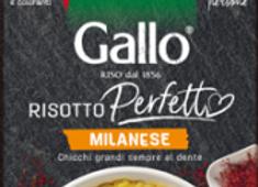 Gallo risotto Perfetto alla milanese 175g