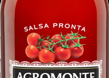 Agromonte färdig körsbärstomatsås med basilika 330g