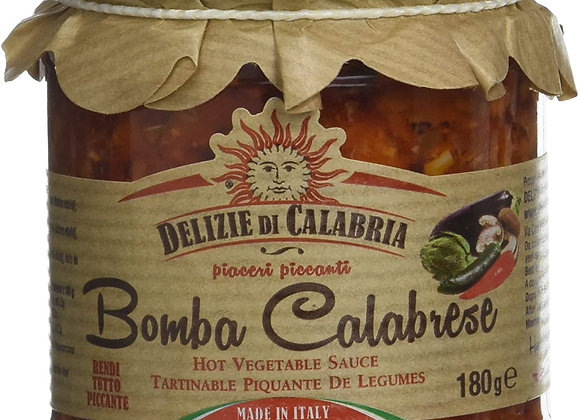 "Delizie di Calabria ""Bomba calabrese"" kryddig smaksättning180g"