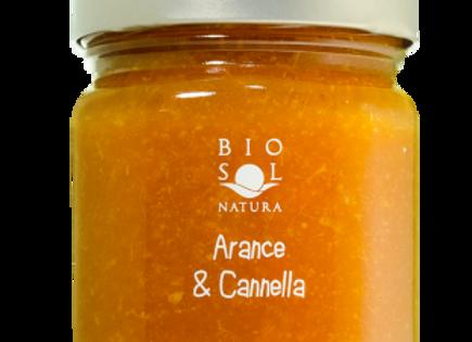 Biosol apelsin- och kanelmarmelad 240g