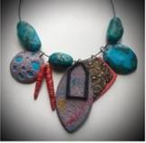 grafitti necklace